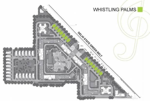Experion Windchants Villa Layout Plan
