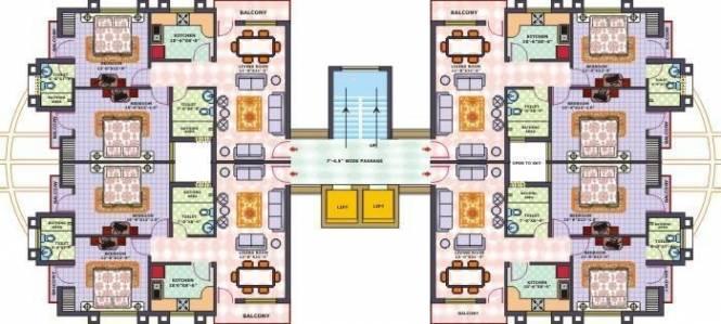 Oxirich Greens Cluster Plan