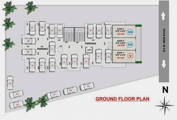 Navkarr Shri Navkar Heights Cluster Plan