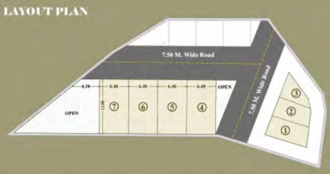 Shriram Sarthak Campus Layout Plan