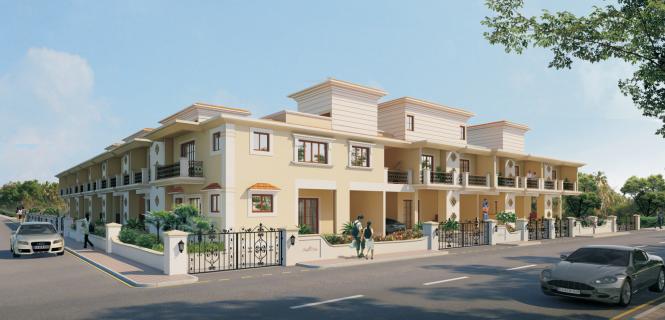 Saldanha Bougain Villas Elevation
