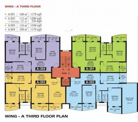 Raj Raj Excellency Cluster Plan