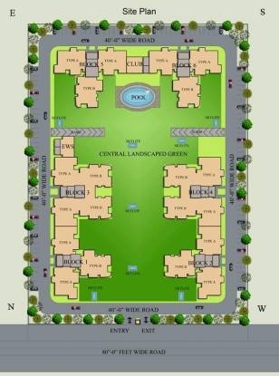 Images for Layout Plan of Hanumant Bollywood Heights 2