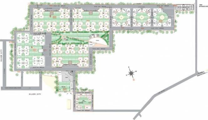 nirmal-chhaya-towers Images for Layout Plan of Pearls Nirmal Chhaya Towers