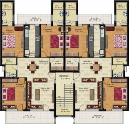 Gillco Palms Cluster Plan