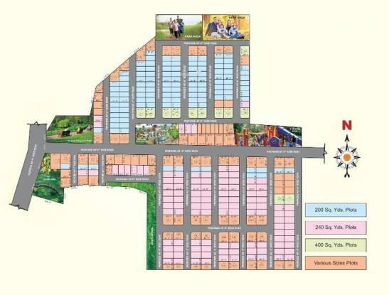 Subhagruha Sukrithi Hills Layout Plan