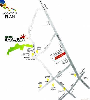 Eldeco Shaurya Location Plan