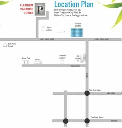 Vastu Platinum Paradise Tower Location Plan