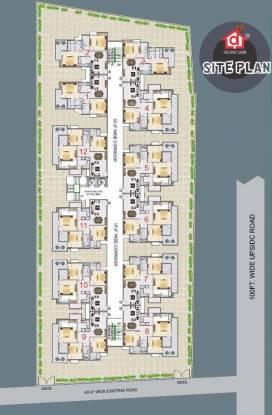 Deeksha Shri Bankey Bihari Dham Cluster Plan