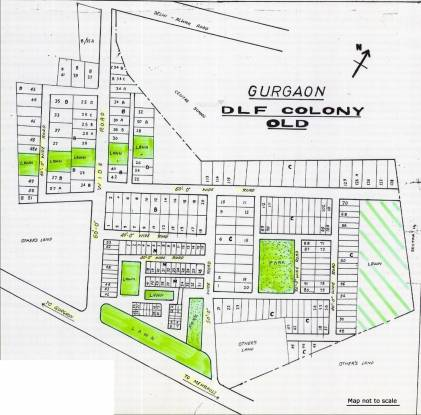 DLF Colony Old Master Plan
