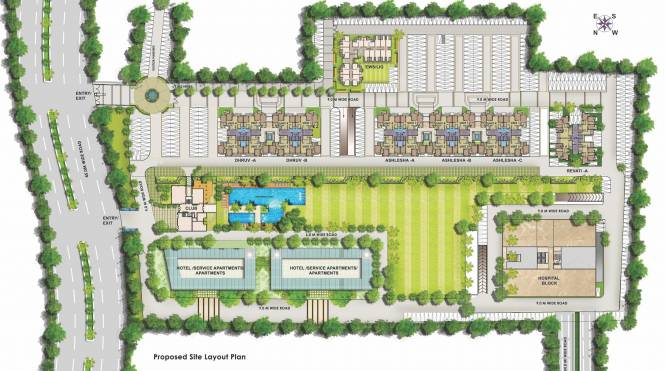 Paarth Aadyant Layout Plan