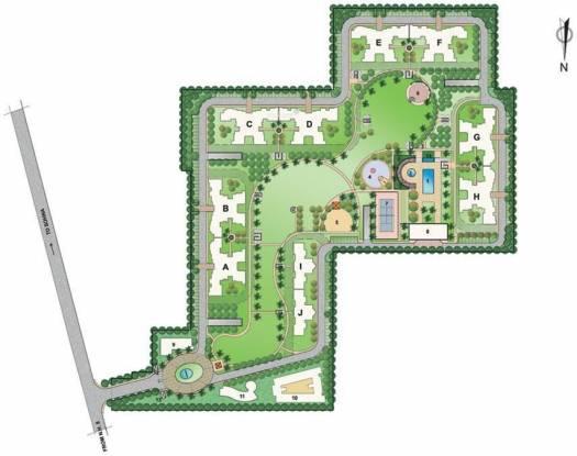 Bestech Park View City 1 Site Plan