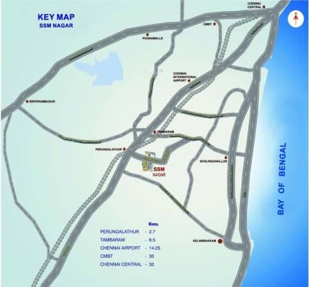 SSM Nagar Location Plan