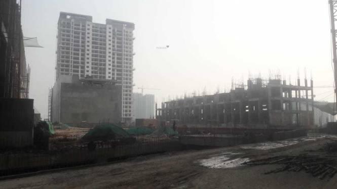 Mahagun Meadows Villa Construction Status