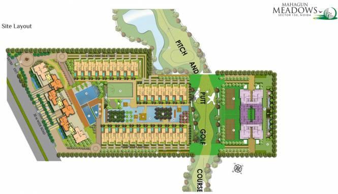 Mahagun Meadows Villa Master Plan