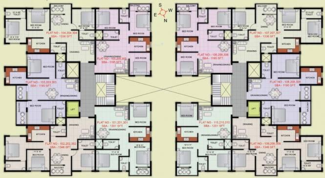 Indo City Enclave Cluster Plan