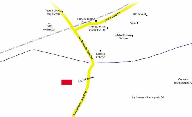Indo Ratnamani Vihar Location Plan