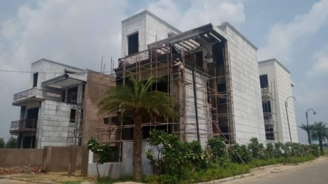 Anant Raj Manor Villas Construction Status