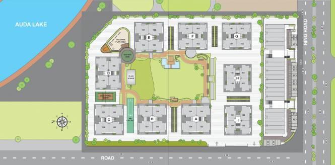 Sangani Shaligram Lakeview Layout Plan