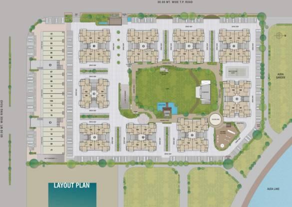 Sangani Shaligram Lakeview Site Plan