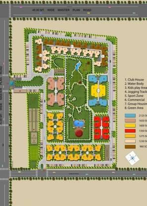 Sangwan Heights Layout Plan