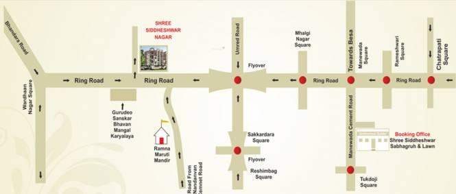 Siddhivinayak Bhalchandra Apartment Location Plan