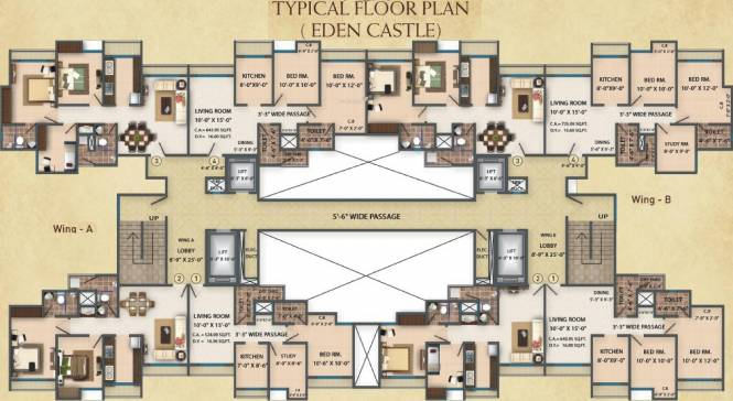 Platinum Heritage Cluster Plan