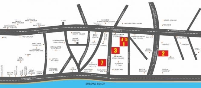 Building Grandeur 3 Phase1 Location Plan