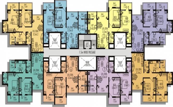 Nanu Sapana Habitat Cluster Plan