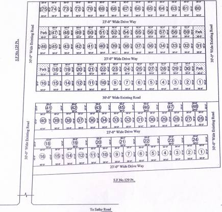 Tristar Triveni West Layout Plan