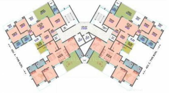 Chandrarang Opus 77 Cluster Plan
