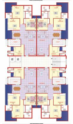 AGI Jalandhar Heights Cluster Plan