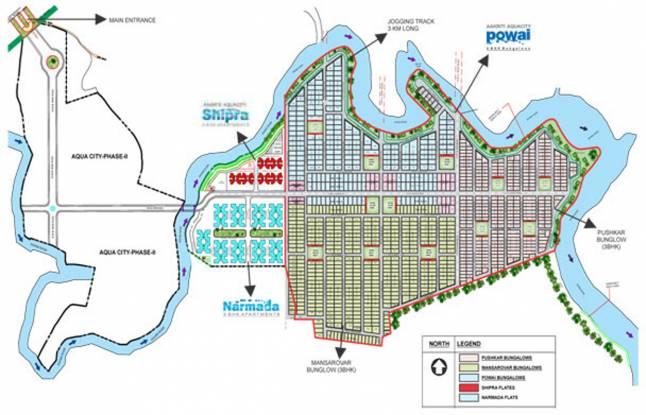 Aakriti Aquacity Powai Layout Plan
