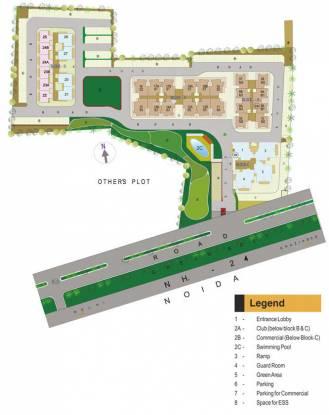 green-vista Images for Layout Plan of Gaursons Green Vista