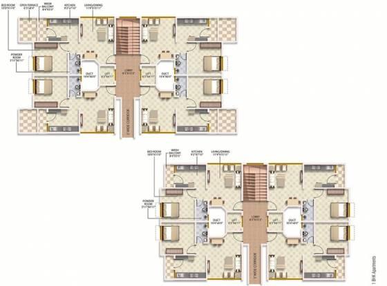 Images for Cluster Plan of Radha Vrindavan Phase 1