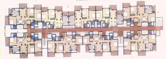 Koncept Vijay Residency Cluster Plan