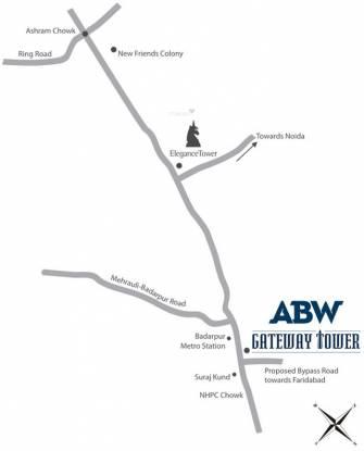 ABW Gateway Tower Location Plan