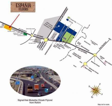 TDI Espania Floors Location Plan