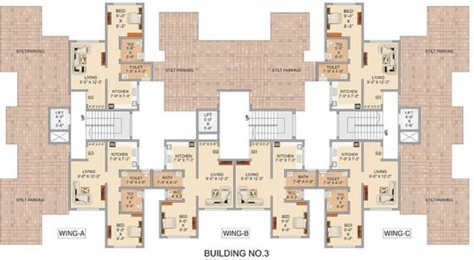 Hirani Hirani Regency Cluster Plan