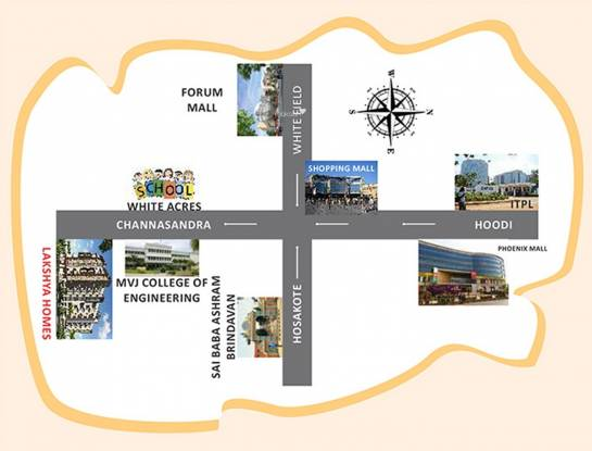 Lakshaya Lakshya Homes Location Plan