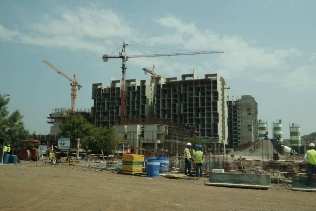 Rohan Abhilasha Construction Status