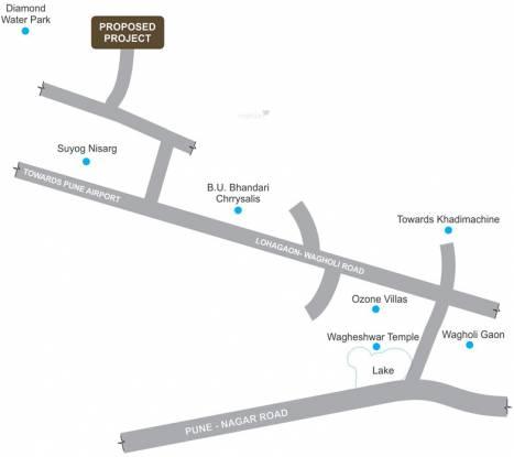 Rohan Abhilasha Location Plan