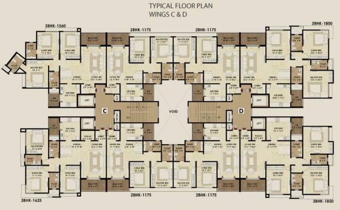 Pride Enchanta Cluster Plan