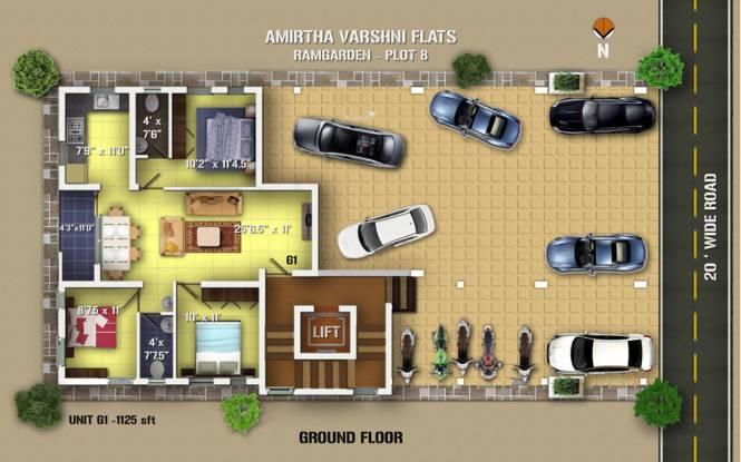 Anu Amirtha Varshni Cluster Plan