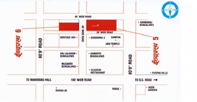 Deep Indraprasth 5 Location Plan