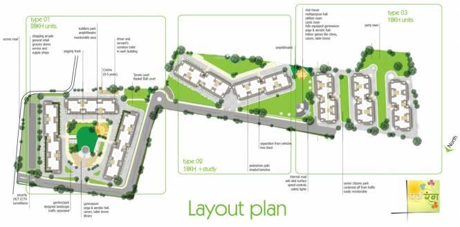 JKG Purvarang Layout Plan