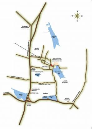 Mithuna White Water Location Plan