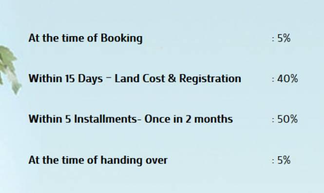 Visoka Swathi Payment Plan