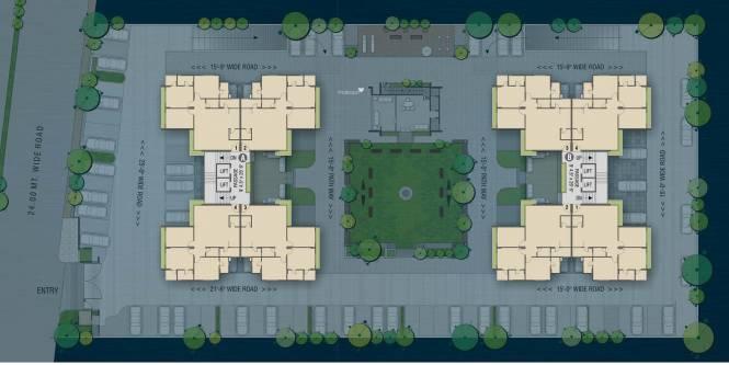 Mandot Sumeru Silverleaf Cluster Plan