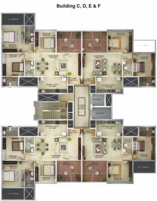 Acropolis Nine Hills Cluster Plan